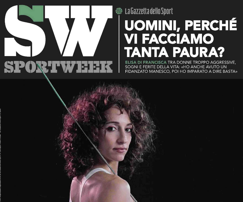 Elisa Di Francisca per SportWeek