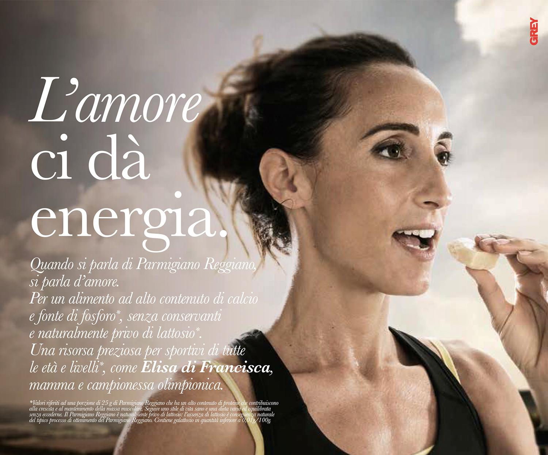Elisa Di Francisca per Parmigiano Reggiano