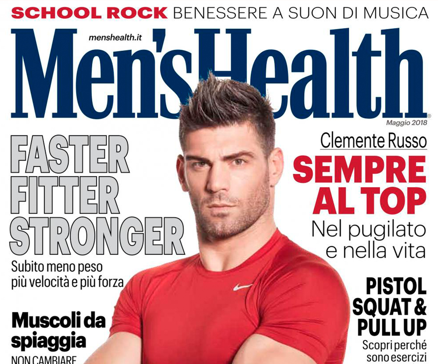 Clemente Russo su Men's Health