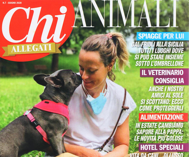 Federica Pellegrini sulla copertina di CHI