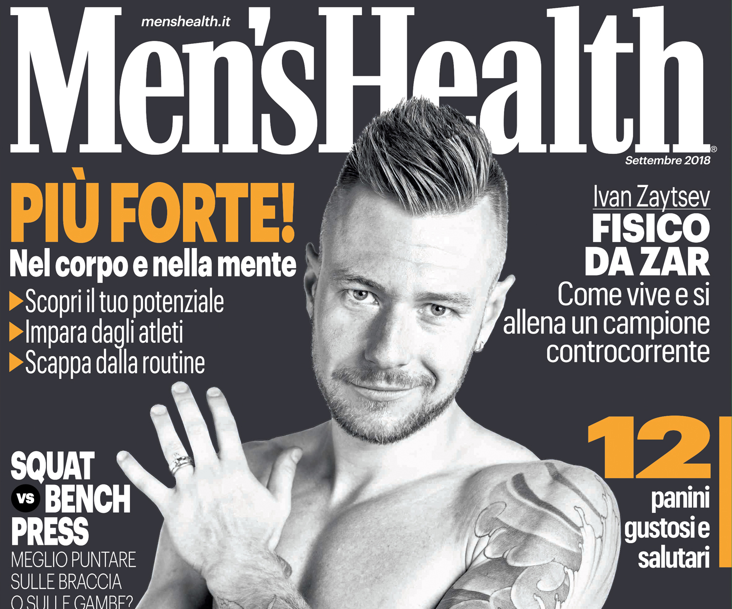 Ivan Zaytsev su Men's Health