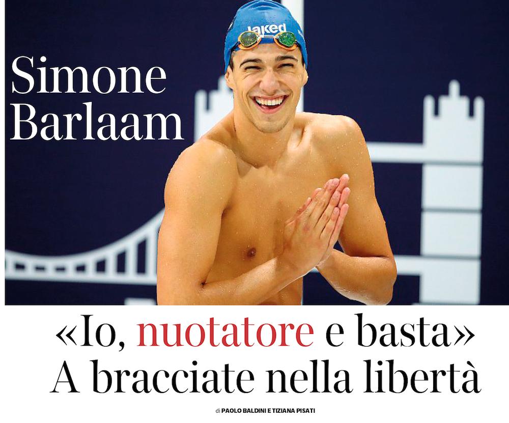 Simone Barlaam sul Corriere della Sera #buonenotizie