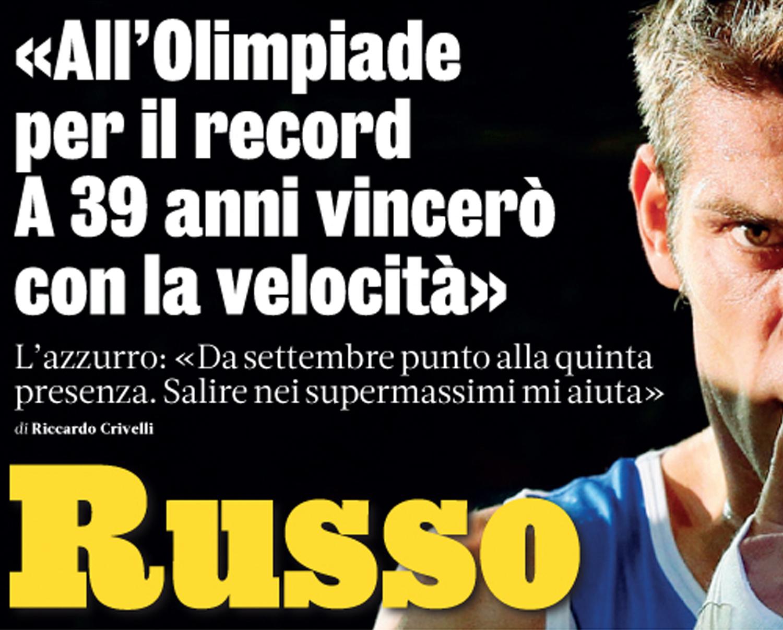 L'obiettivo da record di Clemente Russo: partecipare alla quinta Olimpiade