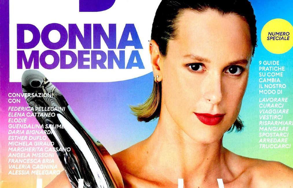 """""""Un Nuovo Futuro"""" per Federica Pellegrina in copertina su Donnamoderna"""