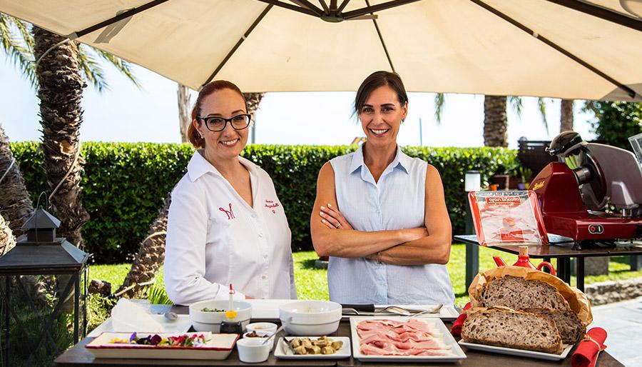 """Rovagnati presenta: """"Il tempo di un panino"""" con Flavia Pennetta e la chef stellata Aurora Mazzucchelli"""