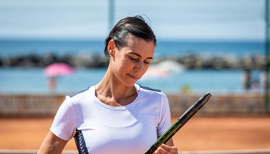 Flavia Pennetta, il tennis è una rosetta al prosciutto