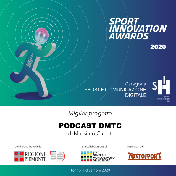 TARTAN PREMIATO COME MIGLIOR PODCAST DEL 2020 DA SPORT INNOVATION HUB